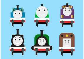 Thomas tågvektorerna vektor