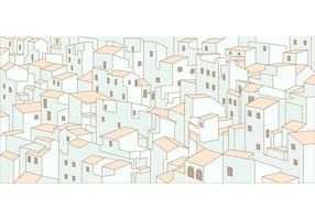 City bakgrundsmönstervektor