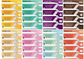 Architektur Vorlagen Vektoren