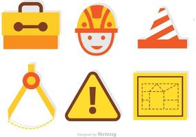 Set of Architecture Tools Vector