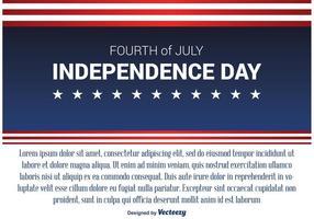 Självständighetsdagen Bakgrund vektor