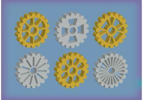 Cykel kedjevektorer vektor
