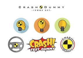 Crash Dummy Vector kostenlos