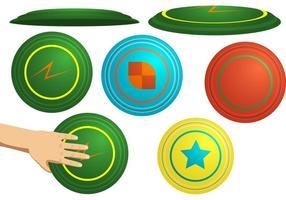Ergreifen Sie Ihren Frisbee! vektor