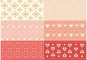Free Vector Valentinstag Muster