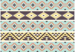 Aztekischer Maya-Stammes- Muster-Vektor