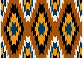 Navajo aztekische Stammesmuster