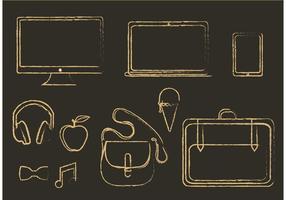 Free Vector Verschiedene Icons