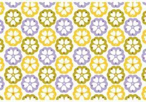 Blumenmuster Design Vektoren