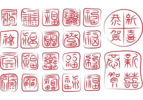 Kinesiska Vector Seals