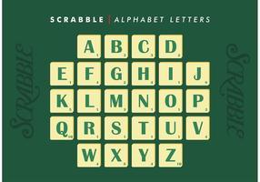 Scrabble Alphabet Buchstaben Vector Free