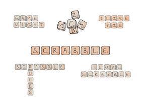 Kostenlos scrabble vector series