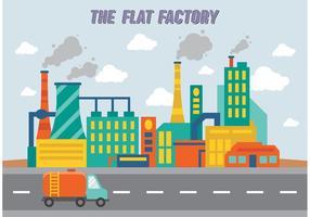 Fabriksinsamling vektor gratis
