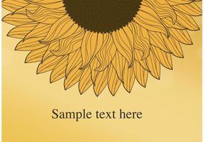 Sonnenblume Vektor Hintergrund