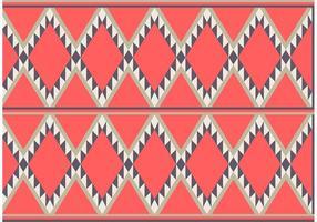 Amerikanska mönster fri vektor