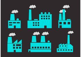 Flat Fabriksvektorer