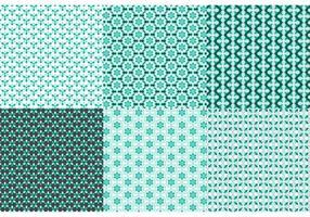 Verzierung Muster Set vektor