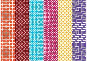 Marokko Vektor Muster Pack