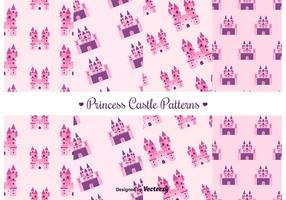 Freies Prinzessin Castle Vektor Muster