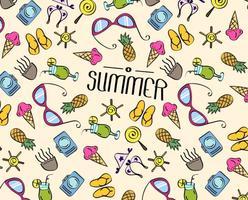 Sommer Strand Textur Vektor