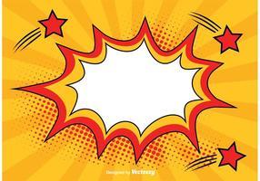 Comic Style Bakgrund Illustration