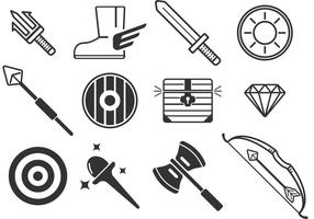 Waffe Vektor Icons