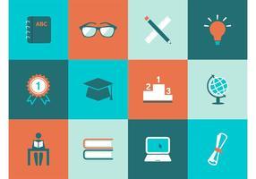 Kostenlose Bildung Vektor Icons