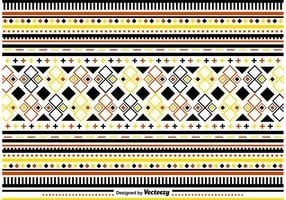 Stylish Folk Pattern Ornamente
