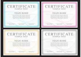 Klassiska certifikatvektorer