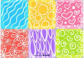 Sommer und Frühling Mosaik Muster