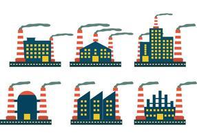 Fabrik Icon Vektoren