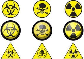Tecken på giftvektorer