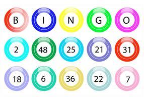 Lotto ballar vektorer