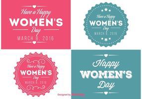 Kvinnans dag etiketter