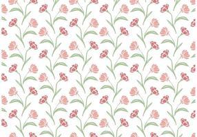 Wildflower Wiederholen Muster vektor