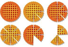 Apfelkuchen Scheiben