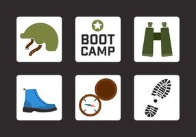 Boot camp vektorelement vektor