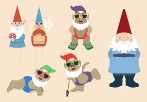 Färgglada Gnome och Elver Collection