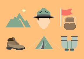 Boot Camp Vektor Elemente