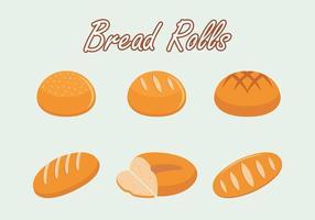 Brot Rolls Vector kostenlos