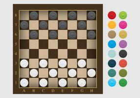 Checker Board Vektor