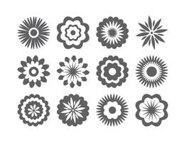 Blandade blomformer