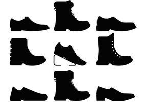 Herren Schuhe Vektoren
