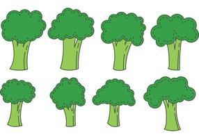 Brokkoli Isolierte Vektoren