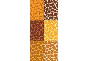 Giraffmönster Set