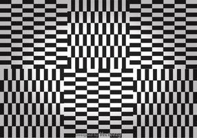 Schwarz-Weiß-Checker-Board-Hintergründe vektor