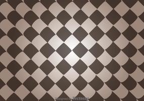 Verzerrte quadratische abstrakte Muster Vektor
