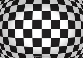 Zusammenfassung Checker Board Hintergrund vektor