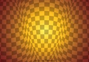 Checker Board Warp Zusammenfassung Hintergrund vektor