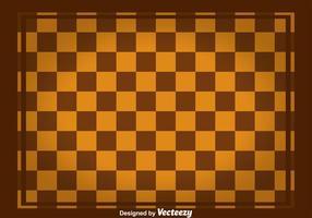 Brun fyrkantig checkerbräda vektor